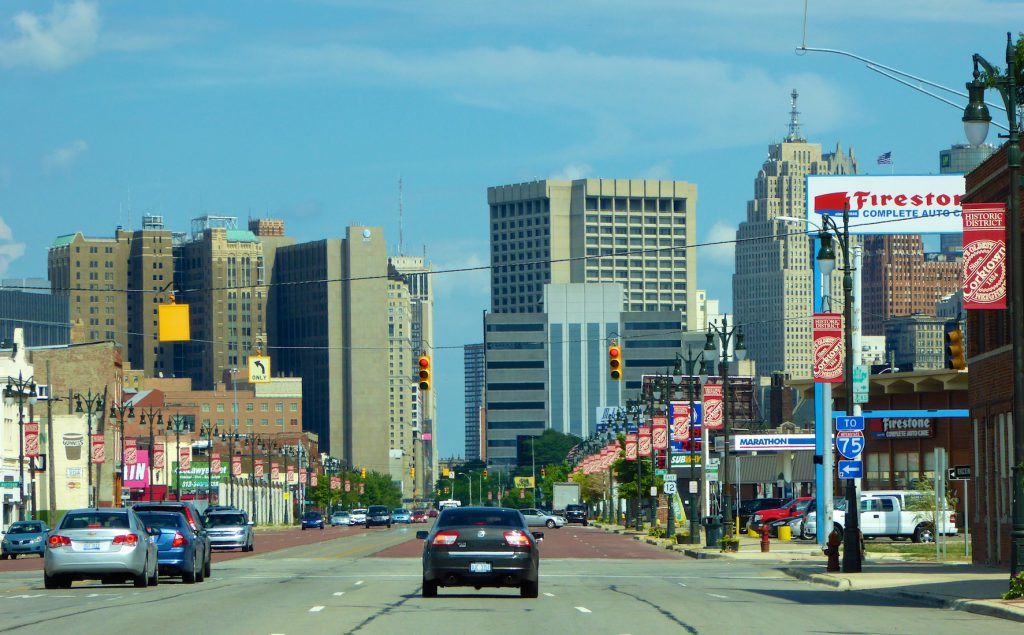 Downtown Detroit, Michigan