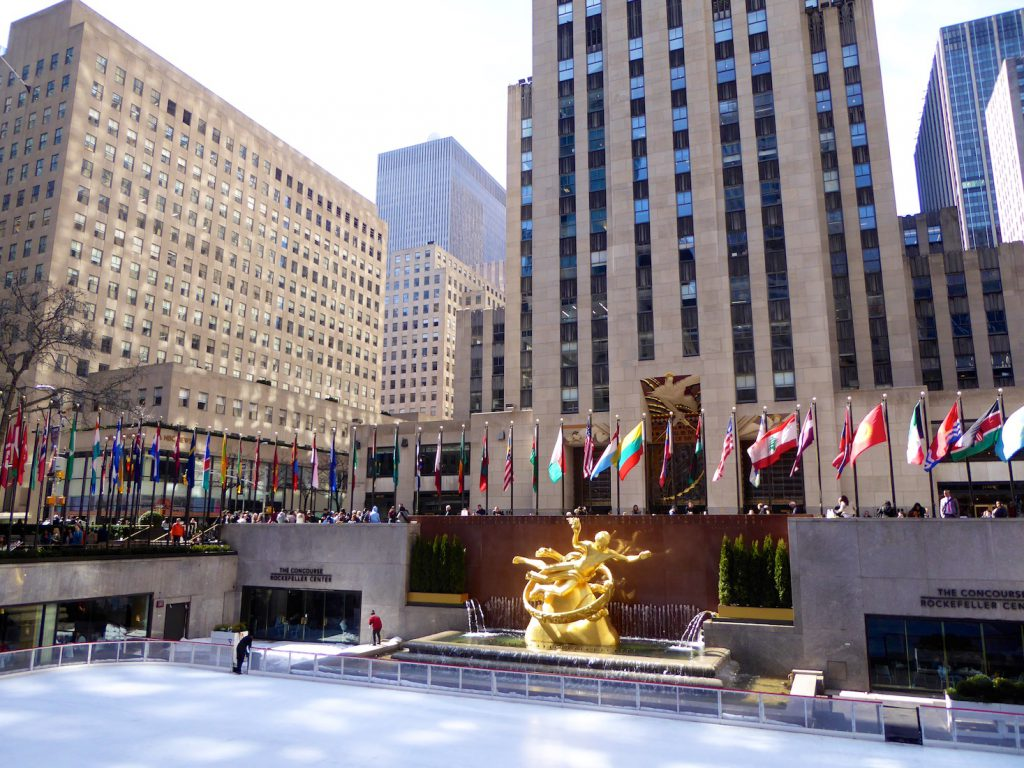 The Rockefeller Centre, New York, New York