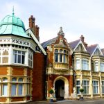 Bletchley Park, UK< the Allied code breaking centre during World War II