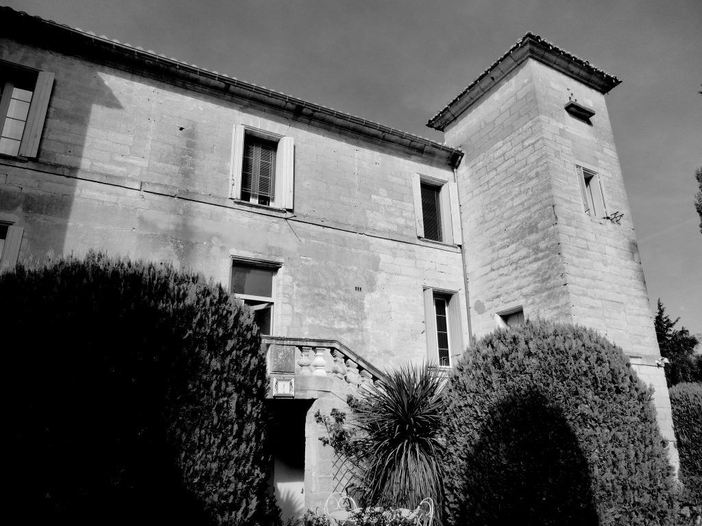 Château des Fouzes, Uzes, France, home to the polish cyrptologists who first cracked the Enigma Code before World War II