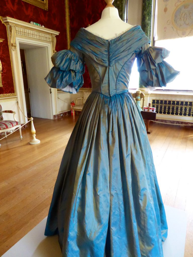 Worn when Victoria and Albert meet for the first time at Buckingham Palace Victoria in playing the Dining Room Episode 2 Ladies in Waiting for VICTORIA TV drama