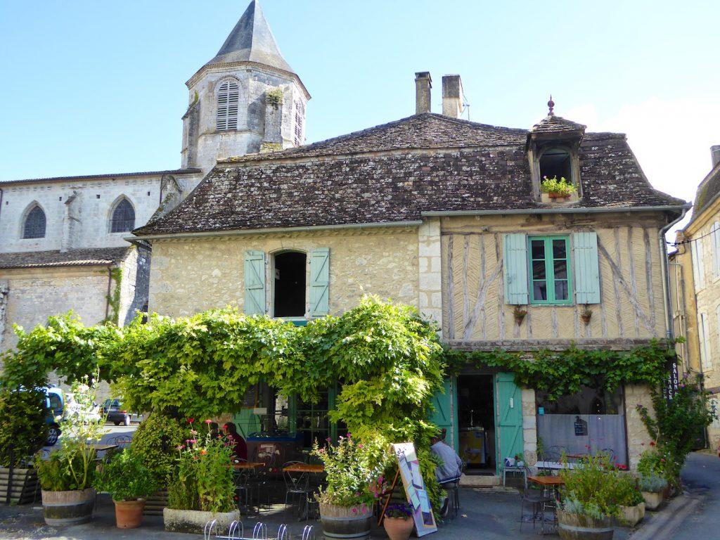Architecture in Issigeac, Periigord, France