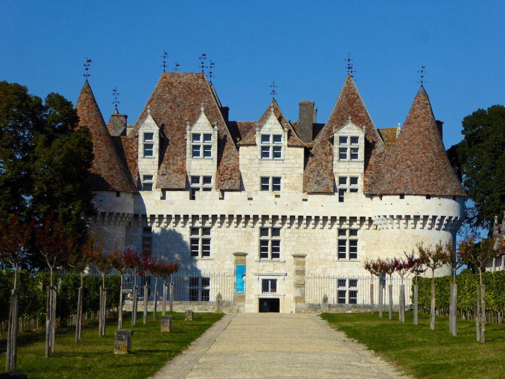Chateau Monbazillac, near Bergerac, Perigord, France