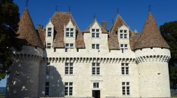 Chateau of Monbazillac, near Bergerac, Perigord, France