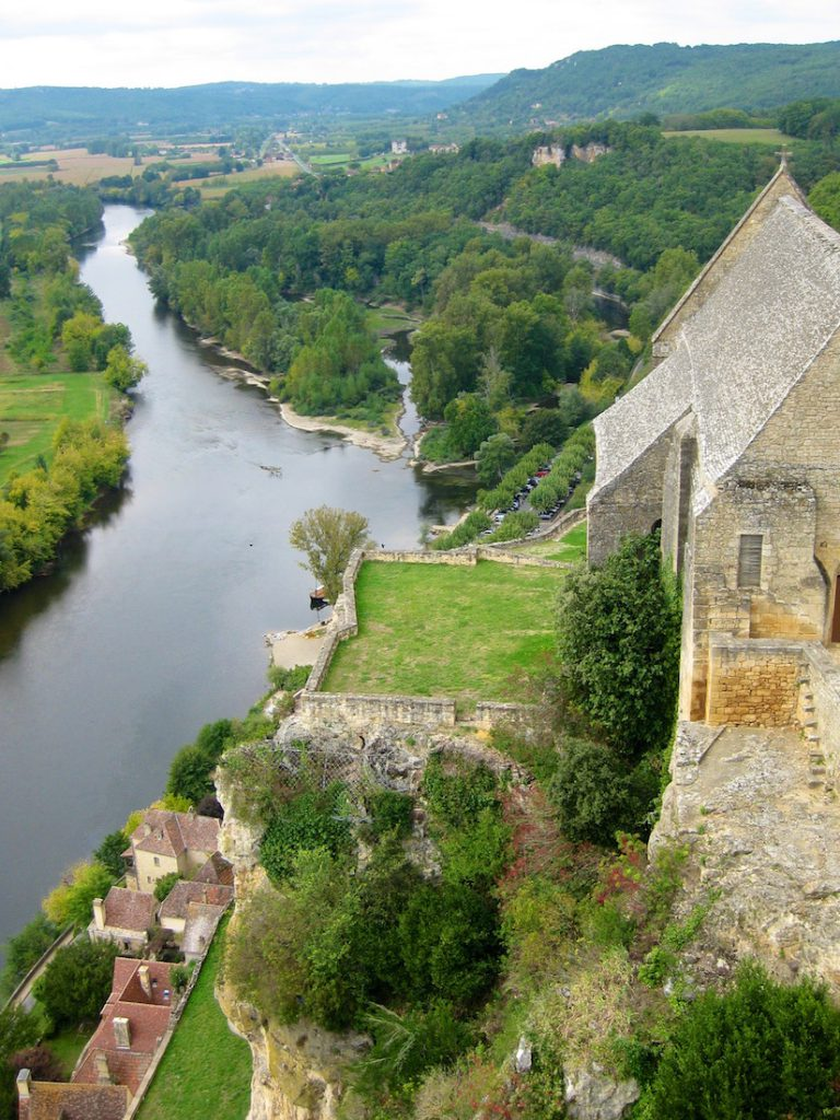 Dordogne River at Beynac, France