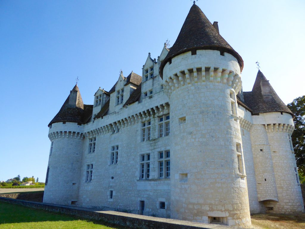 Rear of Chateau Monbazillac, near Bergerac, Perigord, France