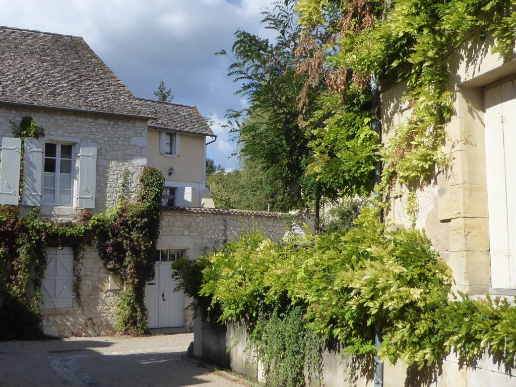 Street in Issigeac, Perigord, France