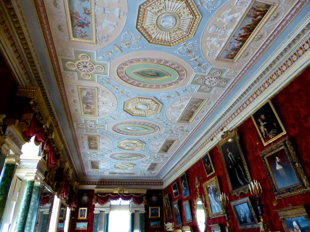 The Gallery at Harweood House Yorkshire
