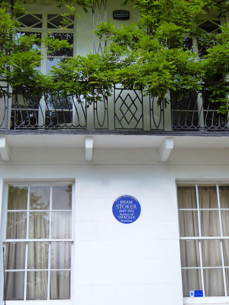 Bram Stoker's Home, Chelsea, London, England