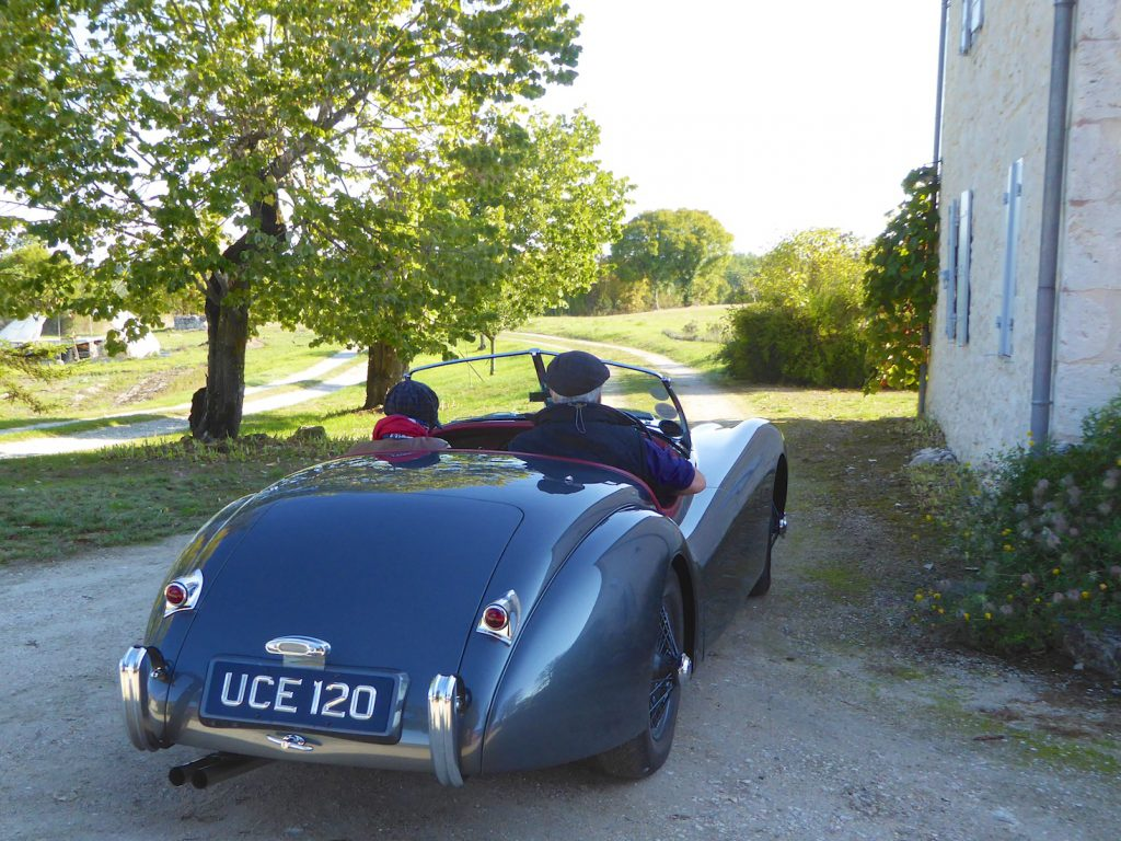 Driving for the day in Dordogne, South West France