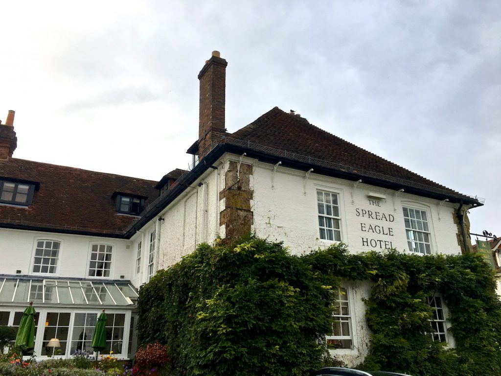 The Spread Eagle, Midhurst , a historic Inn, Midhurst, Sussex, England