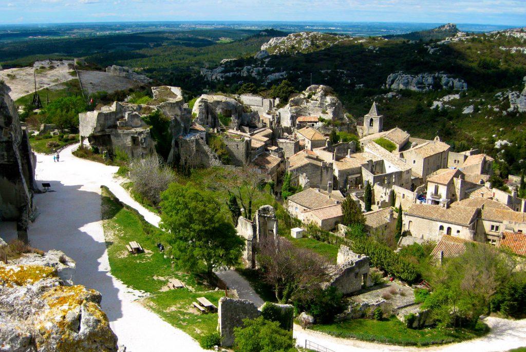 Les Baux-de-Provence, Bouches-du-Rhône, Provence, France