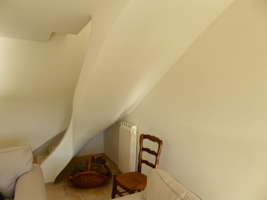 Our staircase in Lourmarin, Luberon, Provence