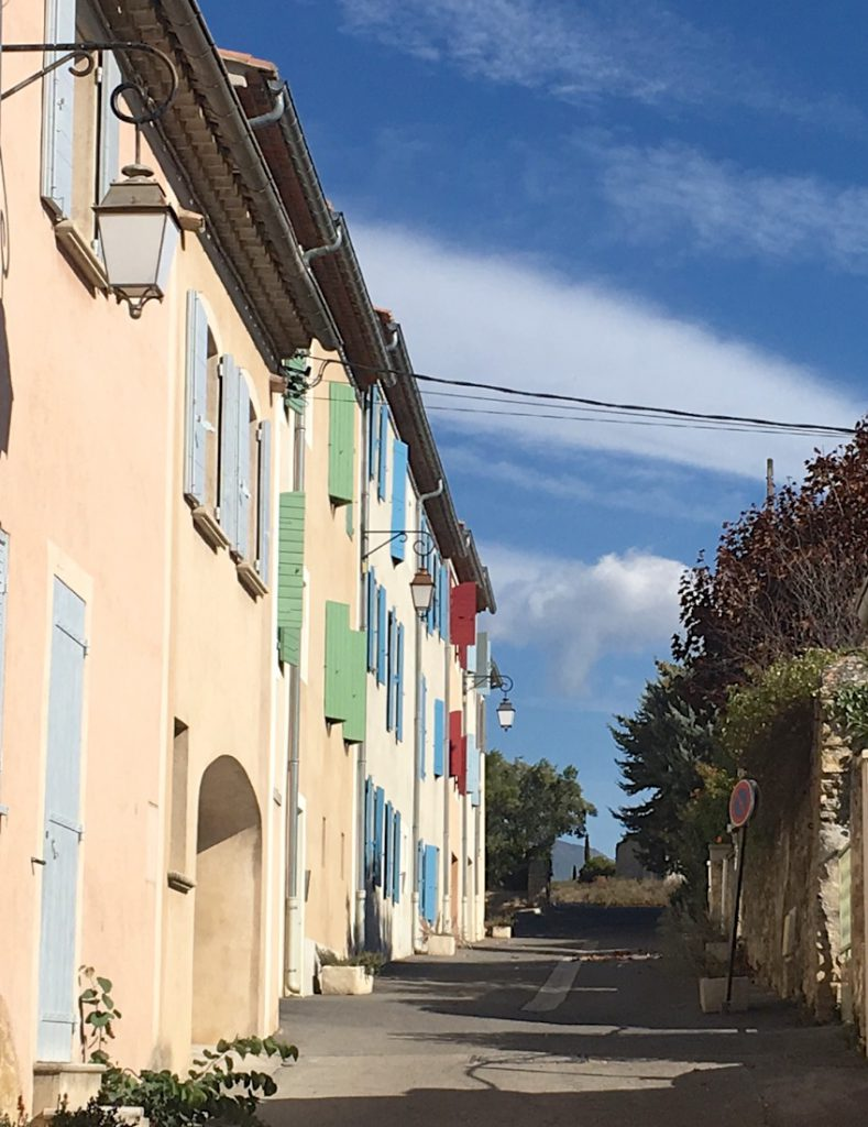Our street in Lourmarin, Luberon, Provence
