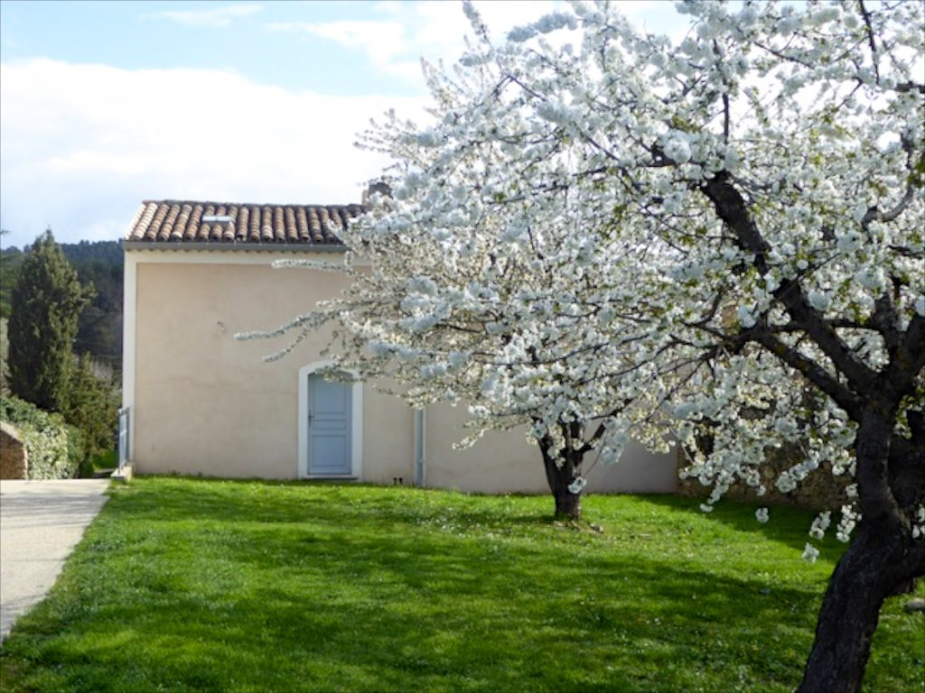 Rear of our maison de village in Lourmarin, Luberon, Provence, France