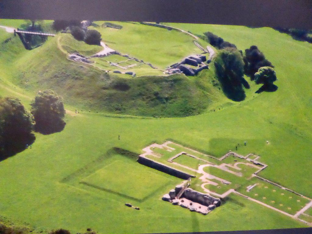 Old Sarum built 1st century BC, Salisbury, Wiltshire, England