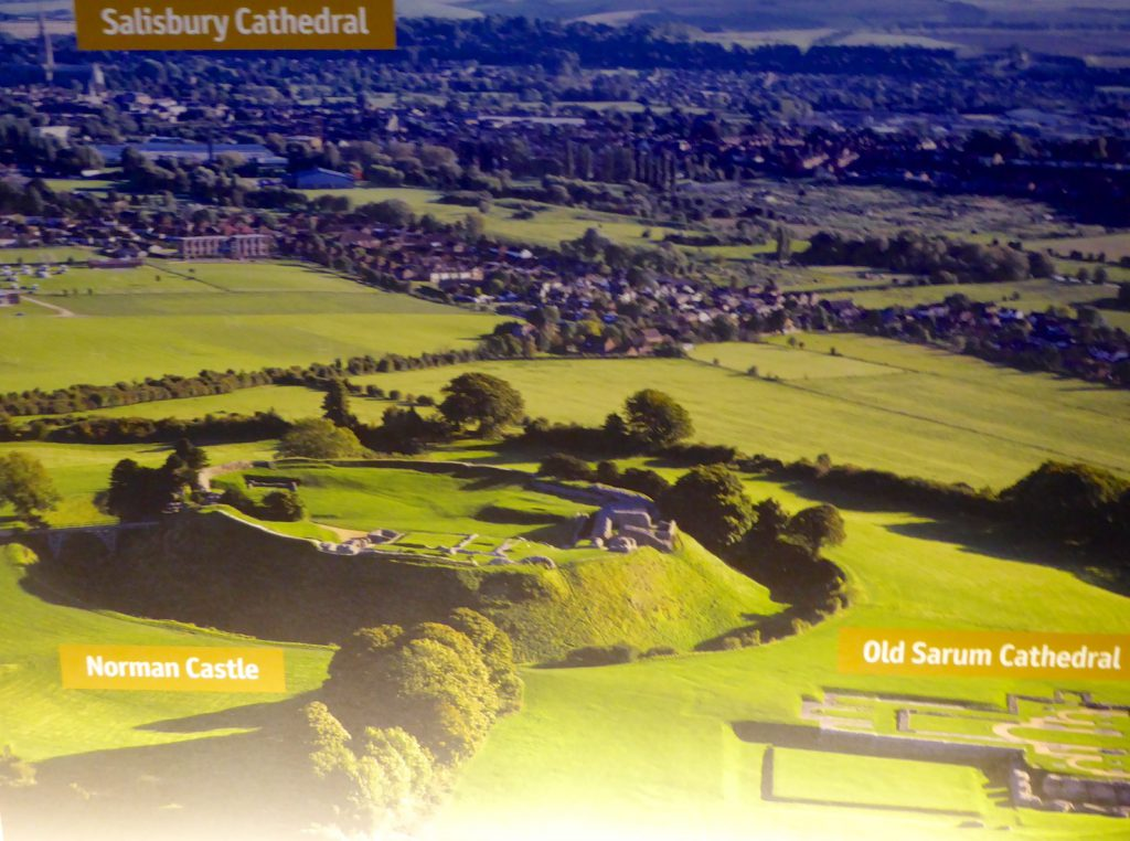 Sarum and Salisbury, Wiltshire, England