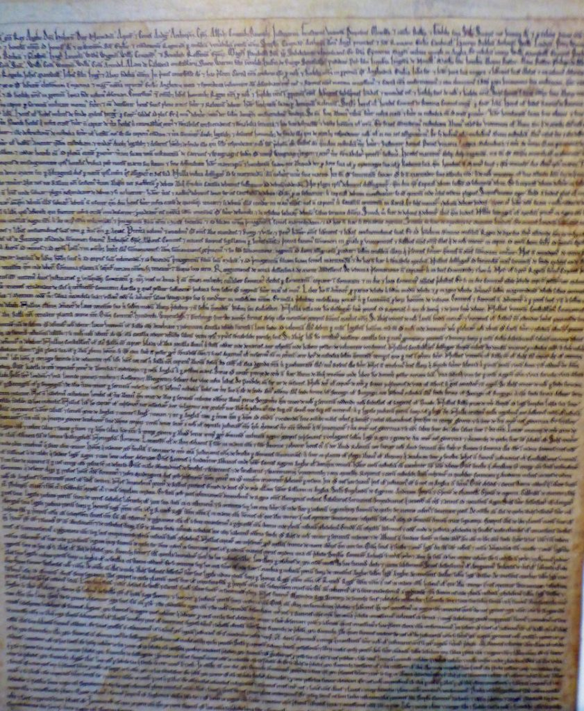 The Salisbury Magna Carta