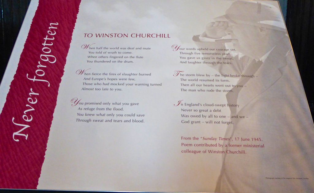 1944 Poem about Sir Winston Churchill