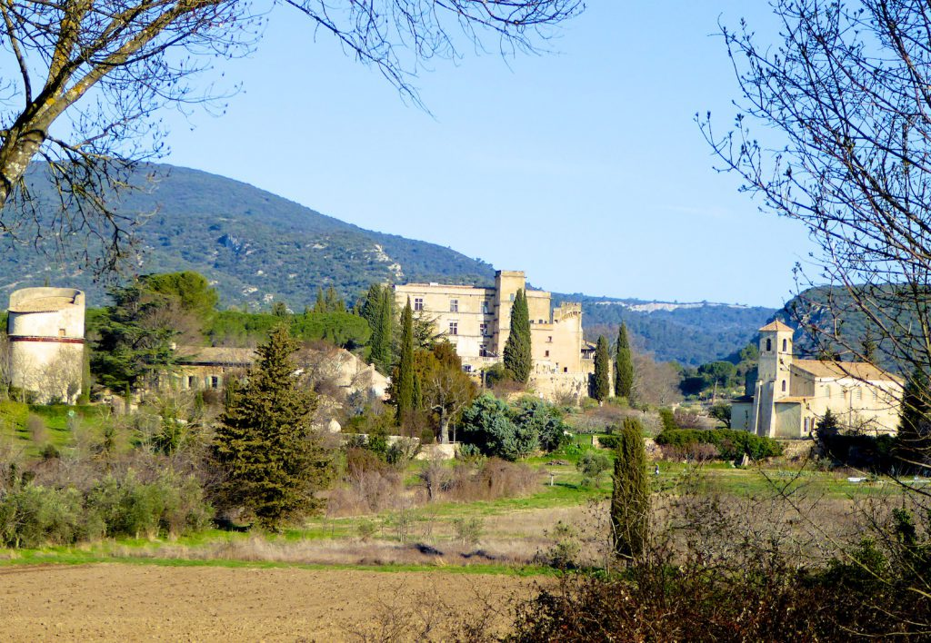 Chateau and Temple in Lourmarin, Luberon, Vaucluse, Provence