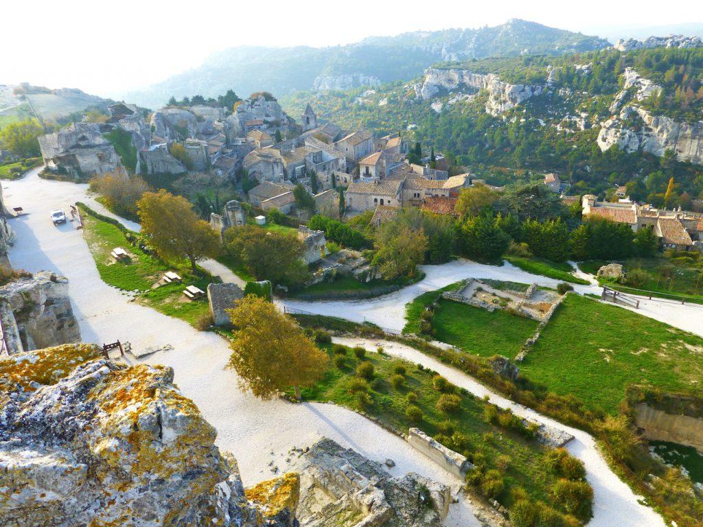 Les-Baux-de-Provence, Bouches-du-Rhône, Provence, France
