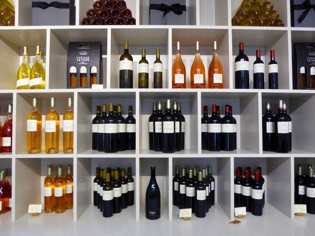 Wine of Château La Coste,Le Puy-Sainte-Réparade, Bouches-du-Rhône, Provence, France