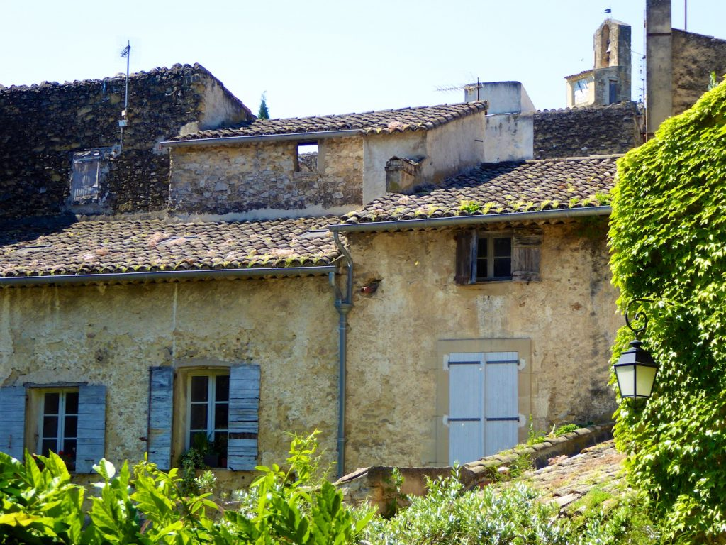 Architecture and Shutters of Lourmarin, Luberon Provence