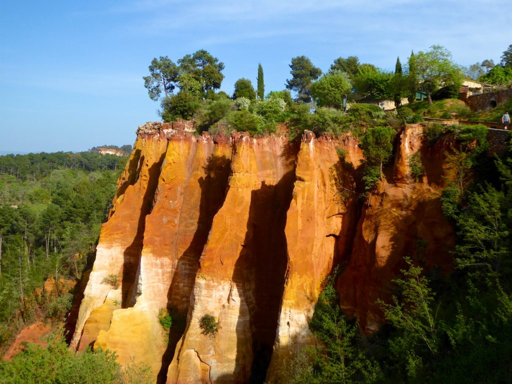 Geological wonders of Provence in Roussillon, Luberon, Provence