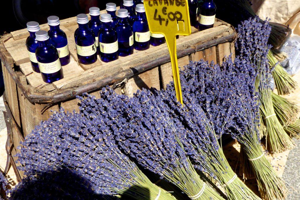 Lavender at Gordes Market, Luberon, Provence, France