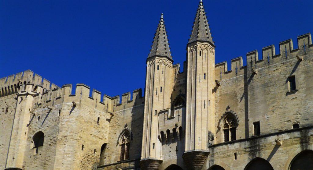 Palais des Papes, Avignon, Vaucluse, Provence, France