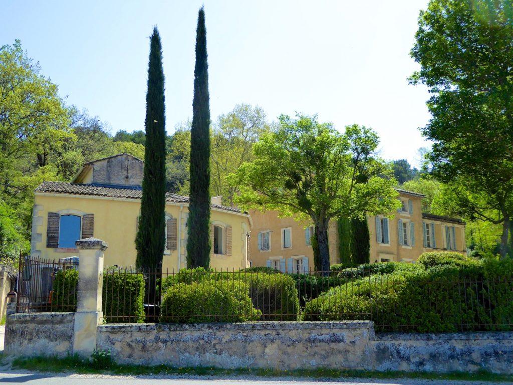 Provencal wine domains, Le Château Constantin, Lourmarin, Luberon, Provence