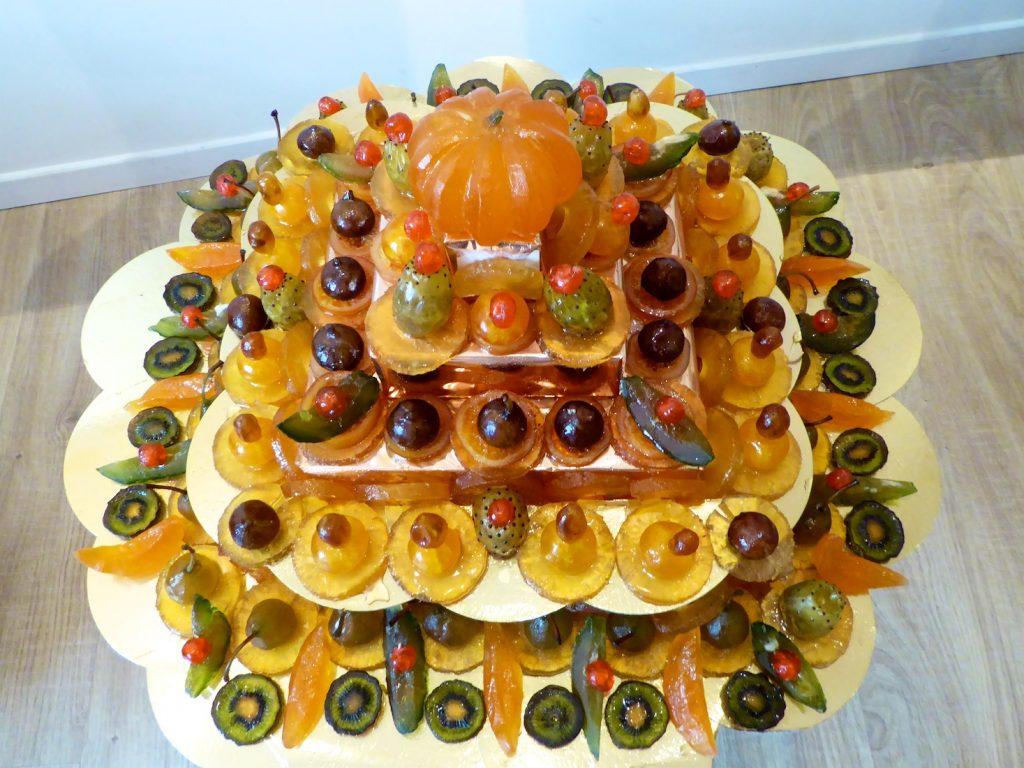 Provencal candies fruit
