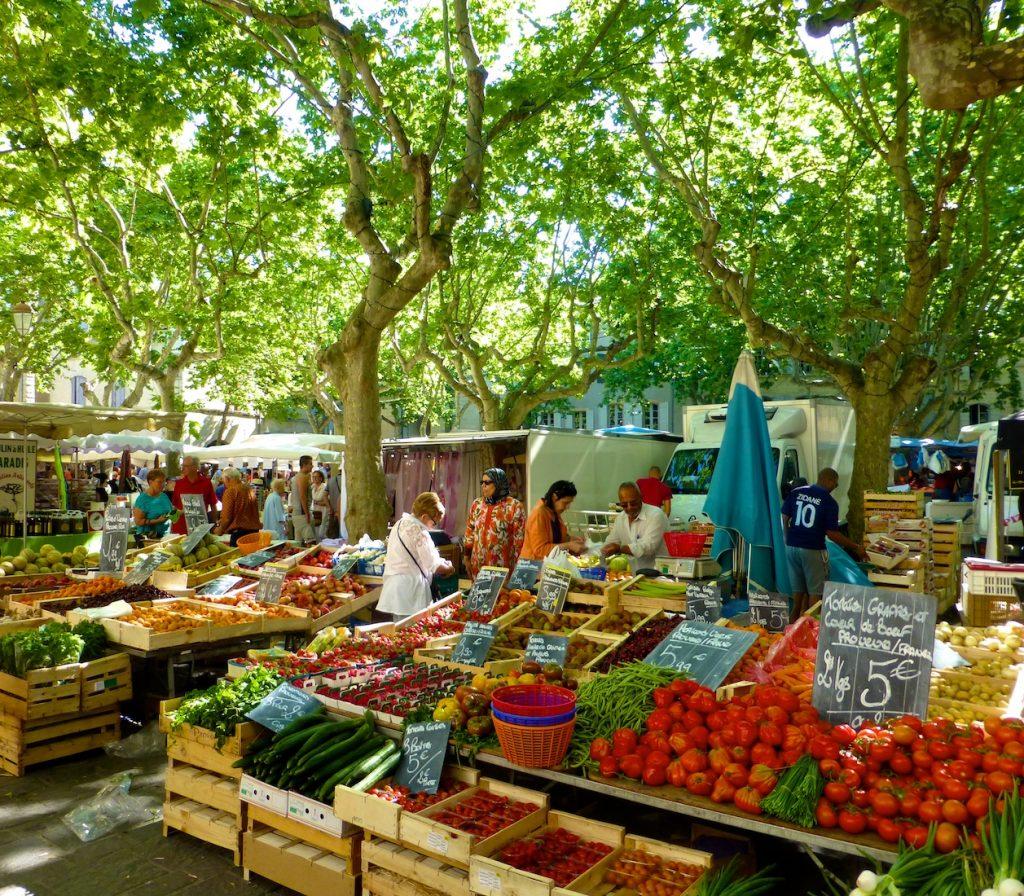 Provencal markets