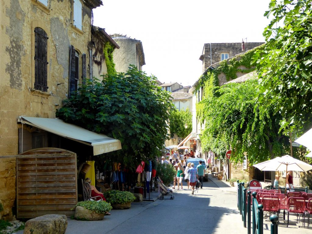 Village streets in Lourmarin, Luberon, Provence