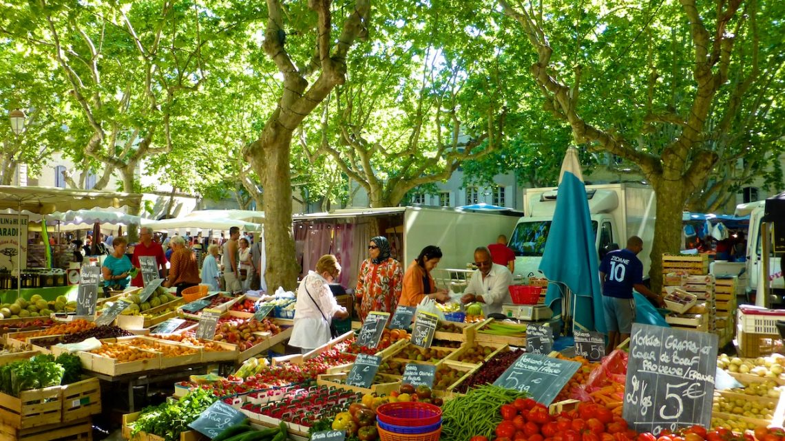 The Provencal markets, Provence, France