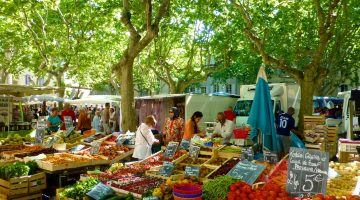 The Provencal markets, Provence, France
