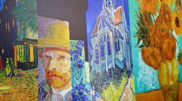 Carrières de Lumières the magnificence of 2019 Van Gogh, La Nuit étoilée