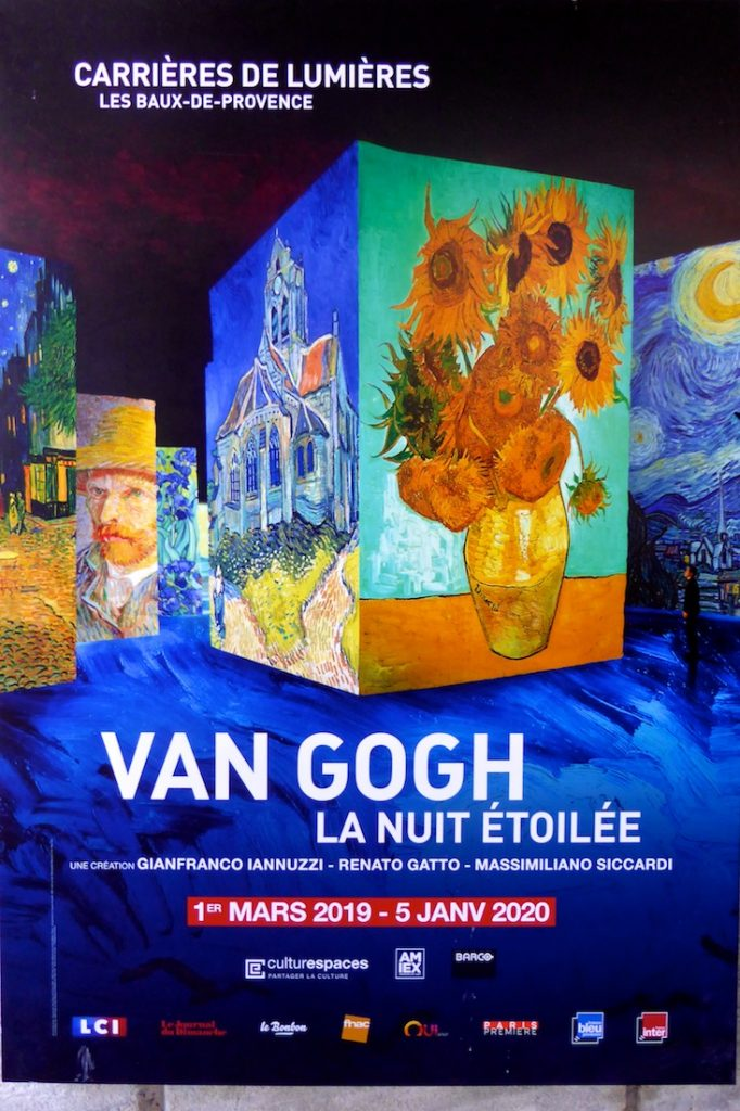 Carrières de Lumières 2019 Van Gogh, La Nuit étoilée