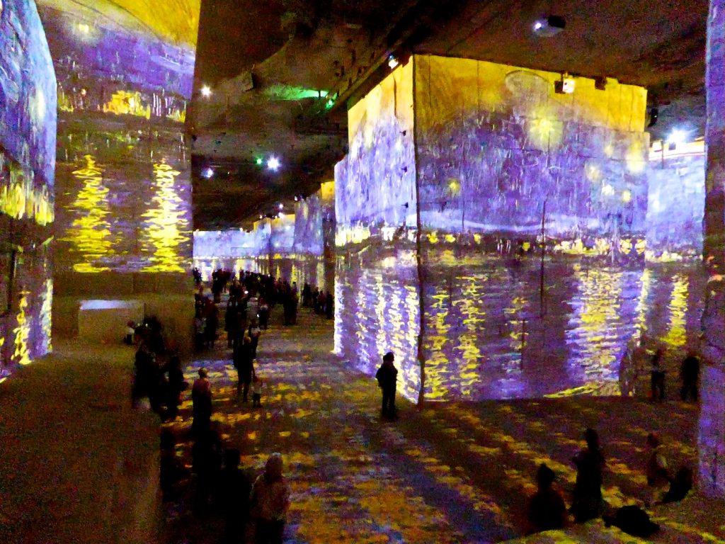 Carrières de Lumières 2019 Van Gogh's La Nuit étoilée, starry night