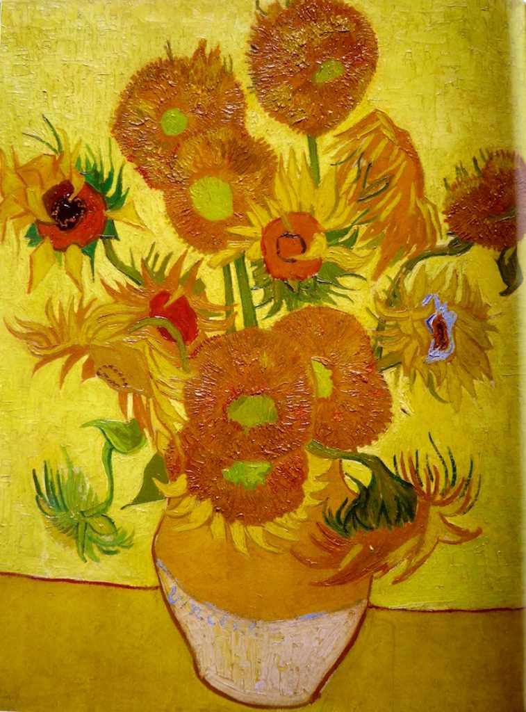 Shutters and Sunflowers Carrières de Lumières 2019 Van Gogh's Sunflowers, Les Touresols