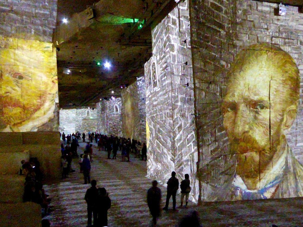 Carrières de Lumières 2019, Van Gogh's self portraits
