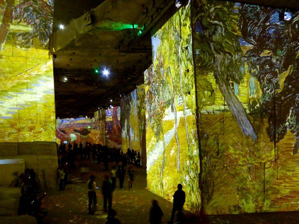 Carrières de Lumières 2019, landsacpes by Van Gogh