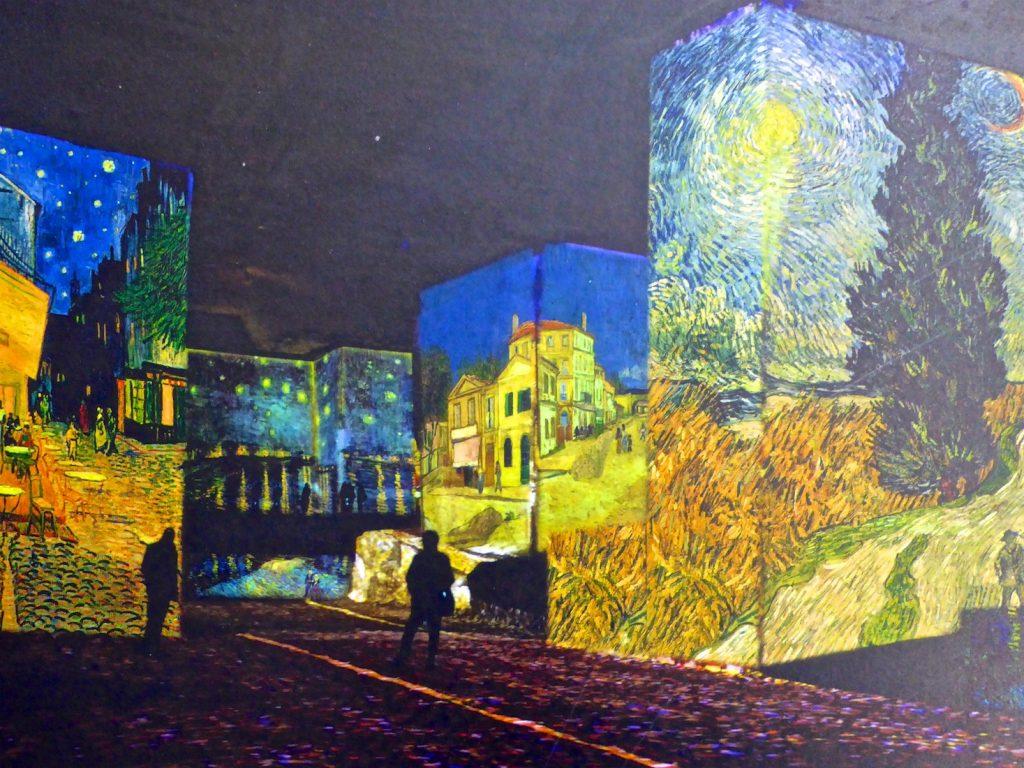 Inside Carrières de Lumières 2019 Van Gogh