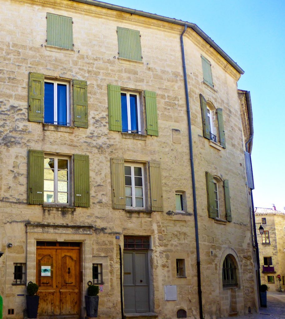 Shutters of Provence in Uzes