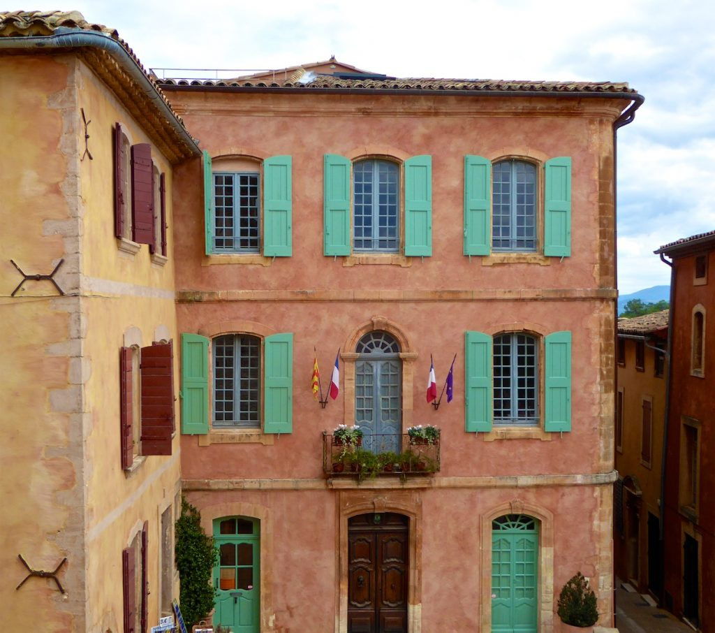 shutters of Provence in Roussillon, Luberon, Provence, France