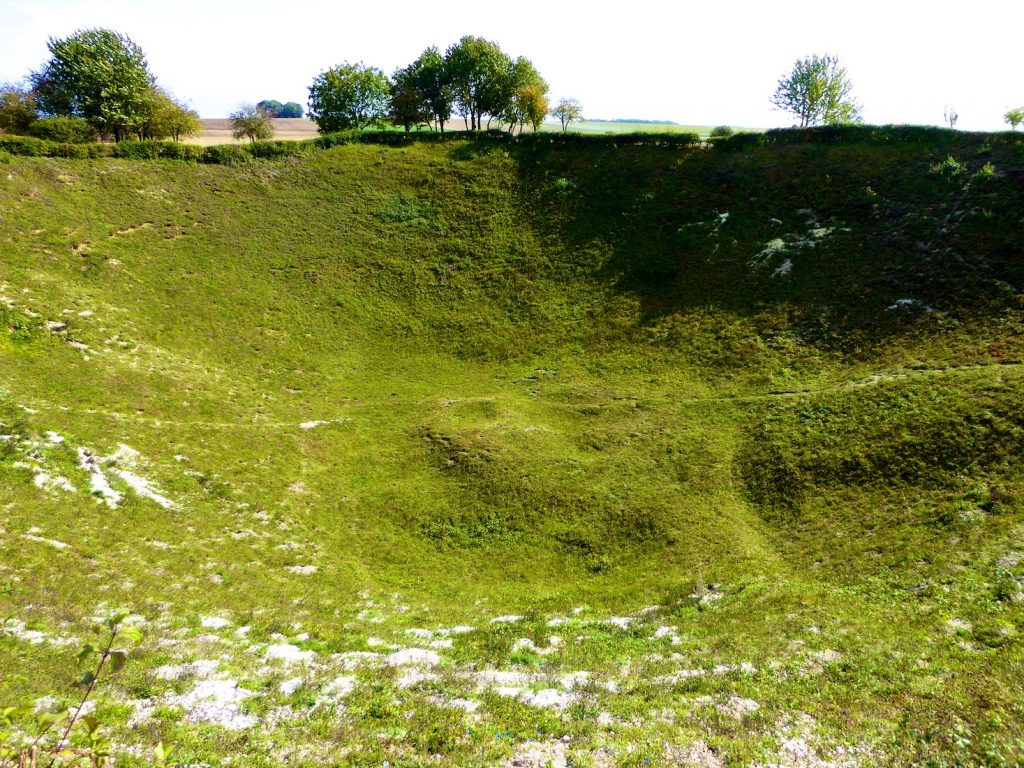 Battle of the Somme Lochnagar Crater Memorial