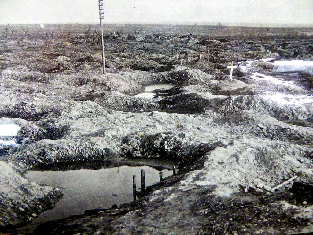 The trenches of World War I