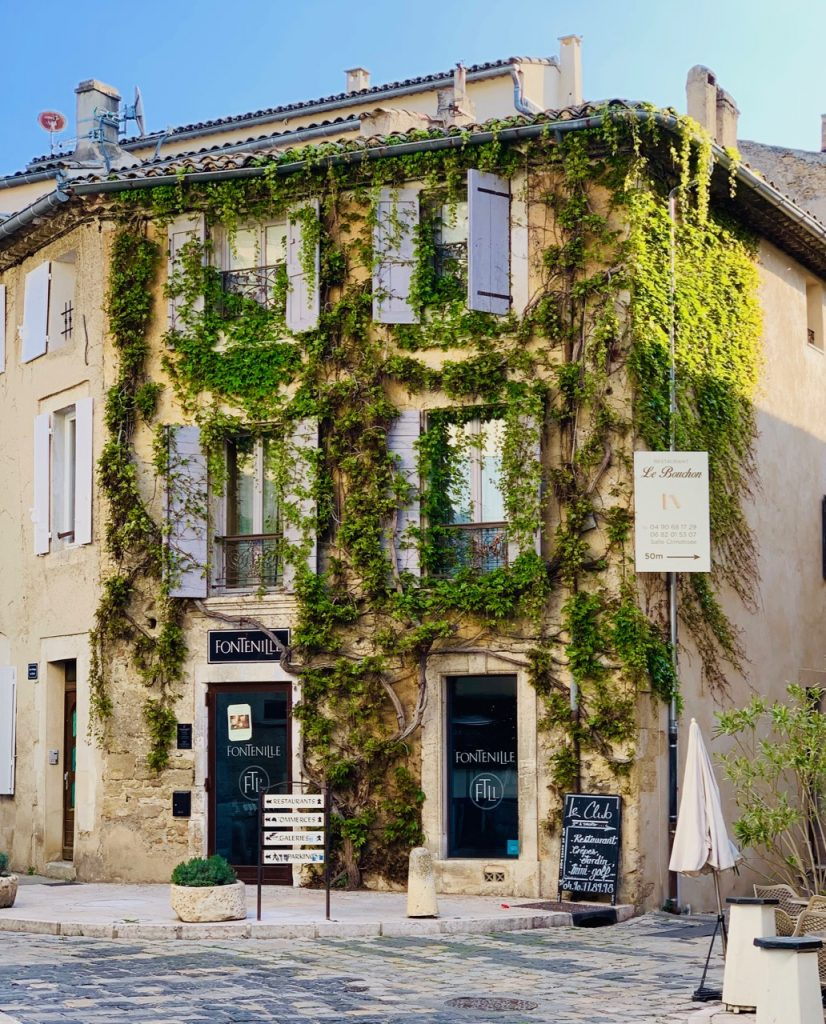 Domaine de Fontenille Tasting room in Lourmarin, Luberon, Vaucluse, Provence, France