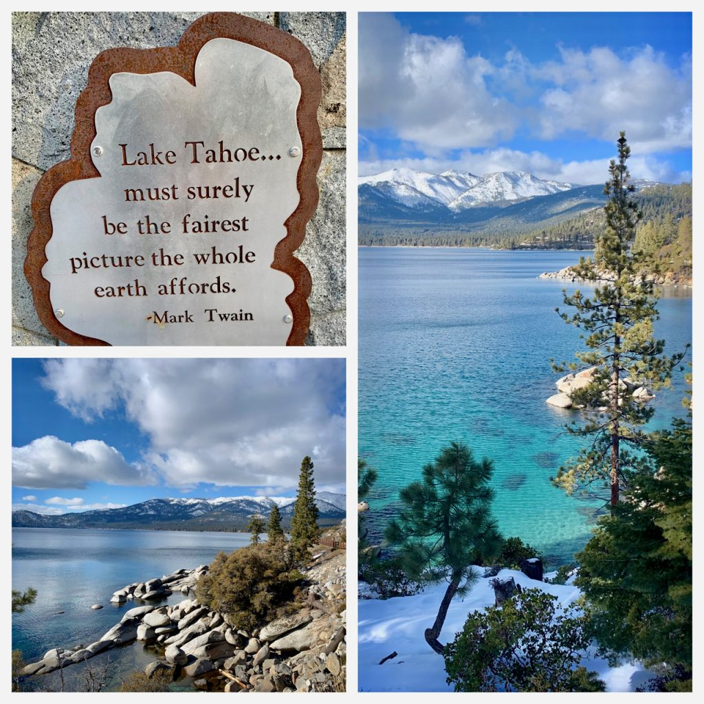 By the lake at Lake Tahoe, California, USA