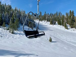 Ski slopes at Northstar, Lake Tahoe, California